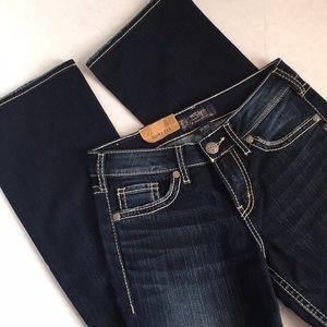 Silver Jeans Suki High Slim Boot Dark Wash 28